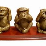 3 singes rien entendu rien dit rien vu