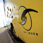 car jaune transports