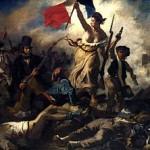 """Eugène Delacroix """"La liberté guidant le peuple"""" égalité liberté fraternité femme"""