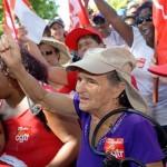 manif COSPAR dans le sud personnes âgées social
