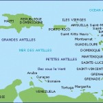 carte des antilles2010