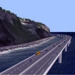 Route du littoral DR